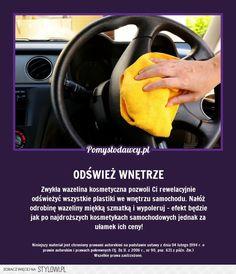 Stylowi.pl - Odkrywaj, kolekcjonuj, kupuj Life Guide, Bathroom Cleaning Hacks, Simple Life Hacks, Home Hacks, Good Advice, Good To Know, Soda, Techno, Good Things