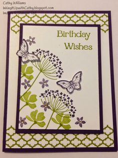 Inking It Up With Cathy: Stampin' Up! Convention Cards, Group 2 - Card 3