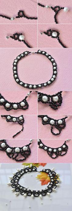 Pandahall original necklace, like it? LC.Pandahall.com will publish the tutorial soon.  #pandahall: