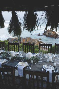 Intimate Oceanside Wedding by Alfred Lor