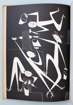 (via My Vintage Avenue!!! 50's and 60's illustrations!!!: Den Store Quillow illustrated by Olle Eksell, 1949!!!)