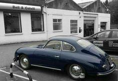 Blue Porsche 356 #porsche