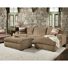 Small Sectional Sofa With Chaise And Ottoman