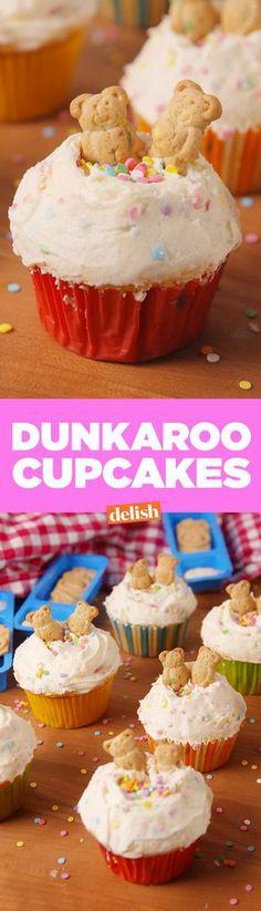 Dunkaroo CupcakesDelish