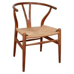 "Mid-Century ""Wishbone"" chair by Hans Wegner"