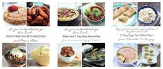 Low Carb and Keto Menu Plans for Weight Loss from I Breathe Im Hungry