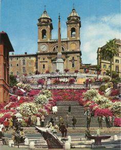 Plaza de España en Roma - Italy