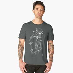 """Plague Doctor"" all products are available, here on :  https://www.redbubble.com/people/stilleskygger/works/29680672-plague-doctor?asc=u&p=mens-premium-t-shirt  #plague #plaguedoctor  #death  #plaguedoctortattoo  #medieval  #ink #inked #art #blackwork #illustration #penandink #blackink #tattoo #tattooart #blackworkerssubmission #darkart #darkarts #darkartists #creepmachine #beautifulbizarre #inkdrawing #drawing #blackworkers #creepyart #occult #macabre #horror"