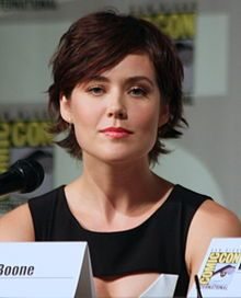 Megan Boone-- (born 04/1983) is an American actress. She is best known for her role as FBI agent/profiler-turned blacksite consultant Elizabeth Keen on the NBC drama series The Blacklist. She was also a regular on Law & Order: Los Angeles and has appeared in films such as My Bloody Valentine 3D (2009) and Step Up Revolution (2012).