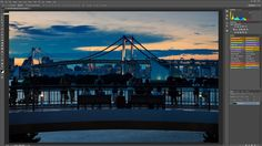 How to edit a backlit sunset cityscape in photoshop  full workflow / Photo retouching & Photoshop manipulation lessons and tutorials: http://www.ryuurui.com/photo-retouching-lessons.html