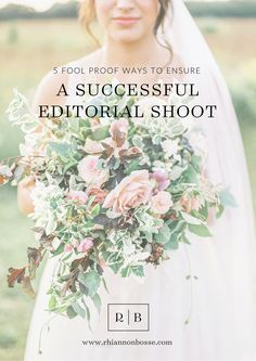 5 Fool Proof Tips for A Successful Editorial Shoot :: Rhiannon Bosse