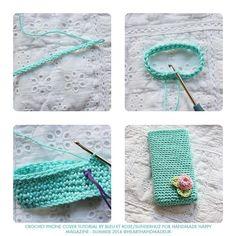 How To Create A Crochet iPhone Cover   Heart Handmade uk   Bloglovin'
