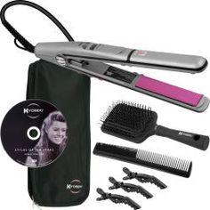 Kiyoseki Mineral Ceramic 3-in-1 Styler Flat Iron | Overstock.com Shopping - Top Rated Flat Irons