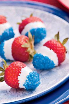 Memorial Day Strawberries