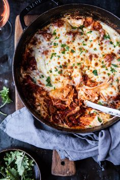 Million Dollar Spaghetti - Same flavors of a classic lasagna, but minus all the cooking steps, layers, and time, YES! From halfbakedharvest.com