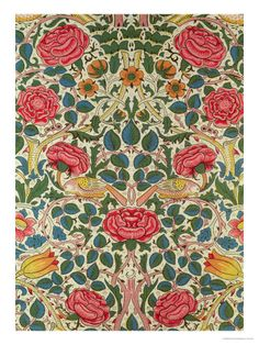 William Morris Rose 1883 available in Print for £43.99 at www.art.co.uk