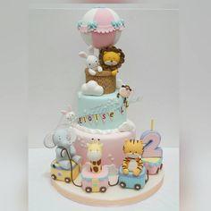 Nimble Train cake
