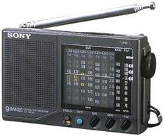 SONY FM/MW/SW1-7 World Band Receiver ICF-SW22 (JE) by Sony. $211.40. Easy to Use