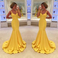 New Arrival Yellow Prom Dress,Mermaid Evening Dress,Long Evening Gown,Formal Dress,Sweetheart Evening Dress Backless Prom Dresses, Cheap Prom Dresses, Sexy Dresses, Formal Dresses, Dress Prom, Party Dresses, Prom Gowns, Prom Dreses, Wedding Dress