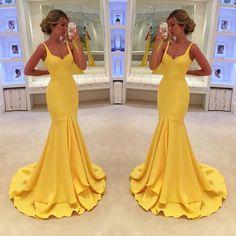 Prom Dresses,Evening Dress,Prom Dresses,Backless Prom Gown,Mermaid Evening Dress,Mermaid