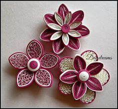 *QUILLING ~ DAYDREAMS: For my love for Quilled flowers