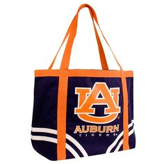 Auburn Tigers NCAA Canvas Tailgate Tote