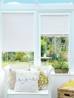 Oyster Pearl Perfect Fit Venetian Blind from conservatory blinds 2go