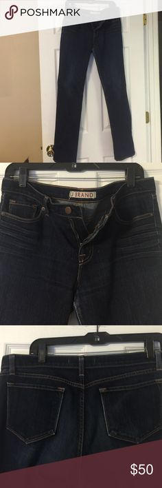 J Brand size 30 jeans J Brand size 30 jeans. Cut# 1052, 8214 Ink. XFit LYCRA four way stretch. Inseam 33 inches. Straight leg fit. J Brand Jeans Straight Leg