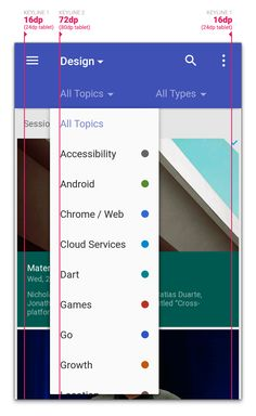 Material design in the 2014 Google I/O app — Medium Material Design Web, Android Material Design, Google Material Design, Android Design, Android Ui, Design Thinking, Google Design, Ui Design Principles, Grid