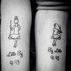 14 ideias de tatuagens para você fazer com sua irmã