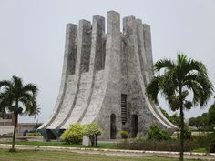 Kwame Nkrumah Memorial Park in Accra contains the mausoleum of Ghana's first president. Capital Of Ghana, Republic Of Ghana, 60 Year Anniversary, Memorial Park, Accra, West Africa, March 6, Building, Places