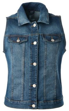 Denim vest Ethnic Looks, Summer Outfits, Vest, Inspired, Denim, Spring, Jackets, Inspiration, Style