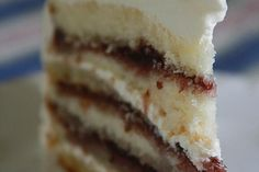 Amaretto cake. Will try this!! :)