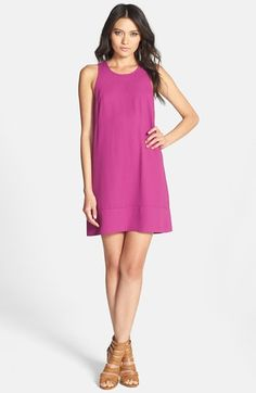 First date casual - with accessories of course. Nordstrom Racerback shift dress