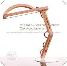 Resultado de imagen para lampara de escritorio de madera