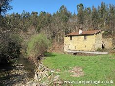 Property for Sale in Castanheira de Pera, Portugal: Stunning stone mill house for renovation into a 2 bedroom house, on 8,885m2 land with a small river.
