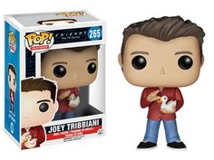 """Vinyl Figure at Mighty Ape NZ. """"How you doin'?"""" From the hit NBC TV series, Friends, comes this Joey Tribbiani Pop! Featuring the stylized Pop! Vinyl likeness of Matt. Joey Tribbiani, Serie Friends, Friends Show, Joey Friends, Friends Moments, Friends Episodes, Friends Cast, Friends Season, Friends Forever"""