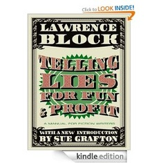 Telling Lies for Fun & Profit is one of the best books on writing I've ever read. I've owned it in print format but just grabbed it for Kindle for only 3.99 - it's the best 4 bucks you'll ever spend. http://j.mp/HNZFrl #write