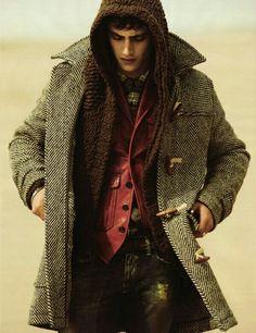 melton wool cropped duffle coat. | boy-wonder | Pinterest | Duffle ...