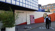 Laminam riveste con le sue grandi lastre l'esterno della casa di container by Containerwerk, Opificio 31, Via Tortona #Fuorisalone2018 #MilanDesignWeek2018 #MilanDesignWeek #MCaroundSaloni