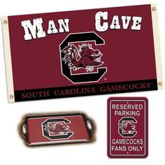 NCAA South Carolina Man Cave Gift Pack