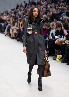Jourdan Dunn is runway royalty, from Burberry to Oscar de la Renta. See all her best catwalk moments on wmag.com.