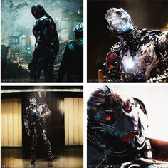 """Ultron in """"Avengers: Age of Ultron"""" -- James Spader's voice is the perfect blend of menacing and creepy!"""