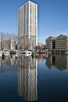 Reflection, Canal de la Villette, Paris