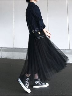 Super Womens Outfits With Sneakers Girls Ideas Super Womens Outfits mit Sneakers Girls Ideen Look Fashion, Hijab Fashion, Fashion Outfits, Womens Fashion, Fashion Trends, Japanese Fashion, Korean Fashion, Looks Dark, Outfit Trends