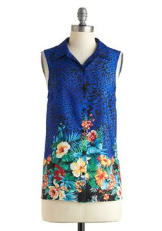 Tropic and Choose Top, #ModCloth