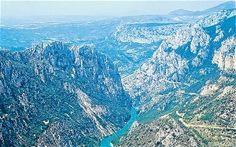 Gorge du Verdon, France: Arizona eat your heart out