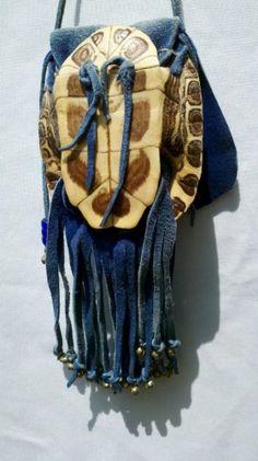 turtle shell purses | turtle shell bag blue deerskin turtle shell bag blue deerskin turtle ...