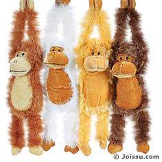Plush Cute Hanging Monkeys