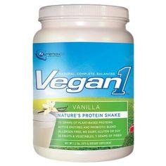 Nutrition53 Vegan1 Nature's Protein Shake Vanilla - 24 oz.